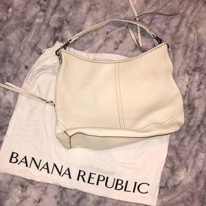 Banana Republic leather hobo purse